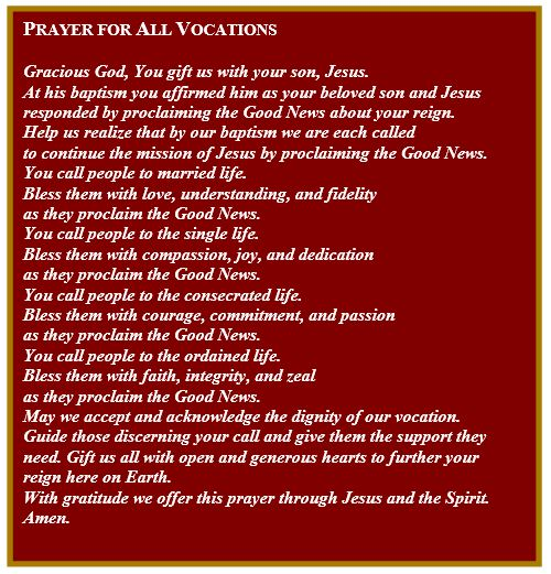 PrayerForVocations